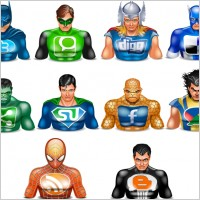 Link toHalloween icons social superheros icons pack
