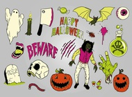 Link toHalloween illustrations vector free
