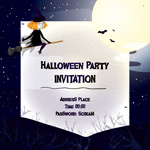 Link toHalloween invitation cards vector