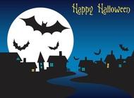 Link toHalloween night graphics vector free