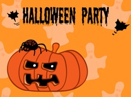 Link toHalloween party flyer vector free