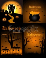 Link toHalloween pattern element vector