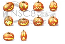 Link toHalloween pumpkin emoticons