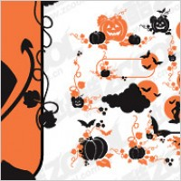 Link toHalloween theme vector pattern material