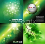 Link toHalo green background vector