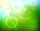 Link tovector background green light Halo