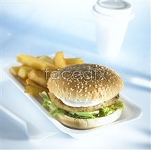pictures hd fries french and Hamburger