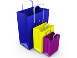 Link toHand bag-color blank paper bag hd pictures