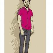 Link toHand drawn people hipster elements vector set 05 free