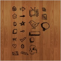 Link toHand drawn vector icons