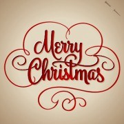 Link toHand lettering merry christmas design vector 02