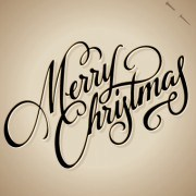 Link toHand lettering merry christmas design vector 03