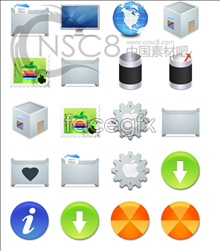 Link toHand material system icons