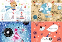 Link toHand-painted cartoon new year illustration