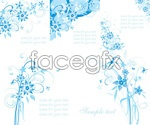 Link toHand-painted flower patterns vector