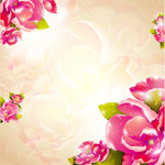 Link toHand painted flowers free vector