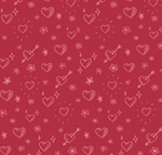 Link toHand-painted love seamless background vector