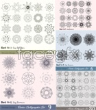 Link toHand-painted patterns vector