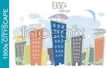 Link toHand-painted urban architecture vector