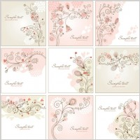 Link toHandpainted background pattern 01 vector