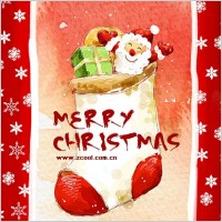 Link toHandpainted christmas posters psd layered 6