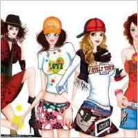 Link toHandpainted female fashion png images