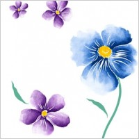 Link toHandpainted flowers layered psd 1
