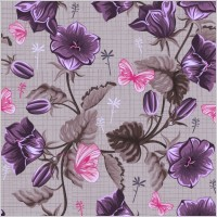 Link toHandpainted flowers vector background 1