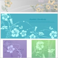 Link toHandpainted flowers vector dream