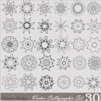Link toHandpainted pattern style 01 vector