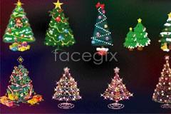 Link toHanging lantern full of christmas vector