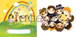 Link toHappy children's day vector