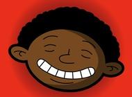 Happy face vector free