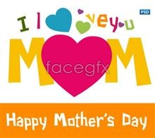 Link toHappy mother's day to psd creative