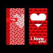 Link toHappy valentine day creative banner vector 03