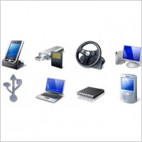 Link toHardware & devices icon set icons pack