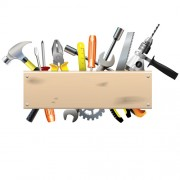 Link toHardware tools with wood boards background vector free