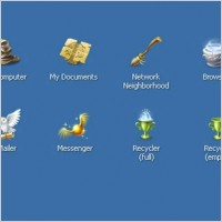 Link toHarry potter and windows xp icons pack