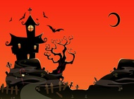 Link toHaunted house vector free