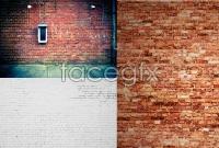 Hd brick wall background photo