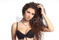Link toHd curly hair beauty picture