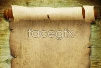 Hd old sheepskin scroll picture