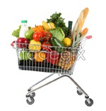 Hd shopping cart psd