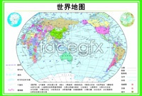 Hd world map pictures
