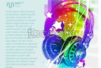 Link toHeadset music power flow element vector