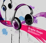 Link toHeadset with ink psd