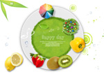Link toHealthy green food 1 psd