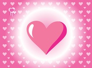 Link toHeart pattern vector free