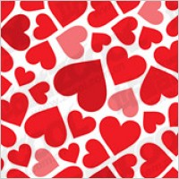 Link toHeart-shaped background material vector