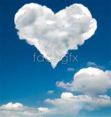 Link toHeart-shaped cloud pictures